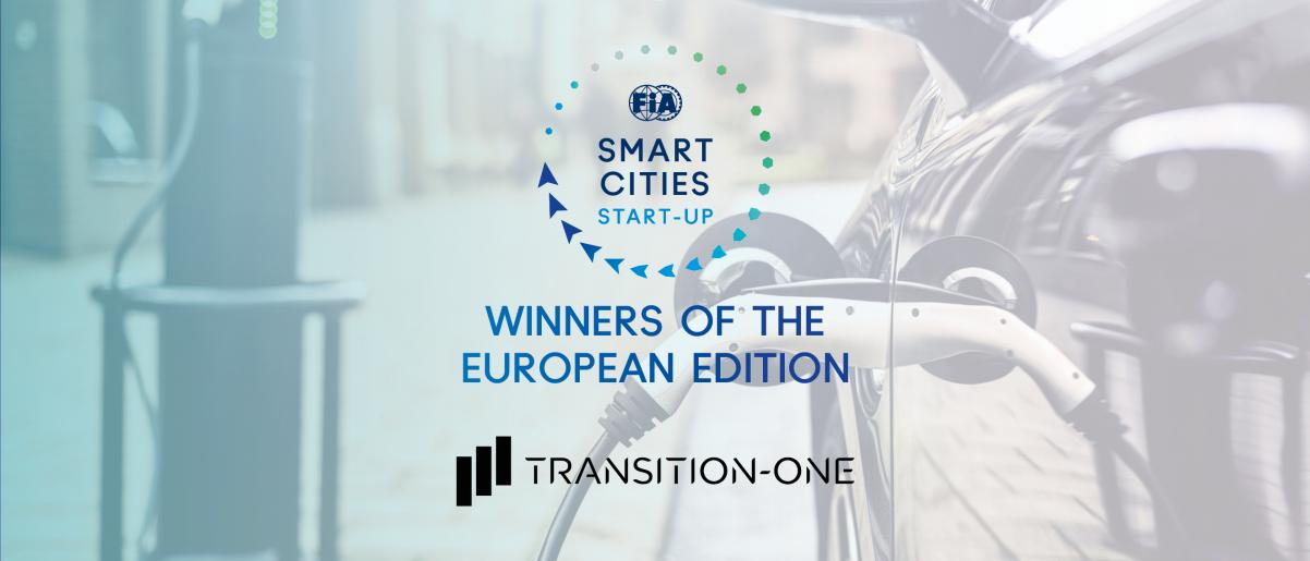Transition-One gagne le concours FIA Smar Cities Global Startup
